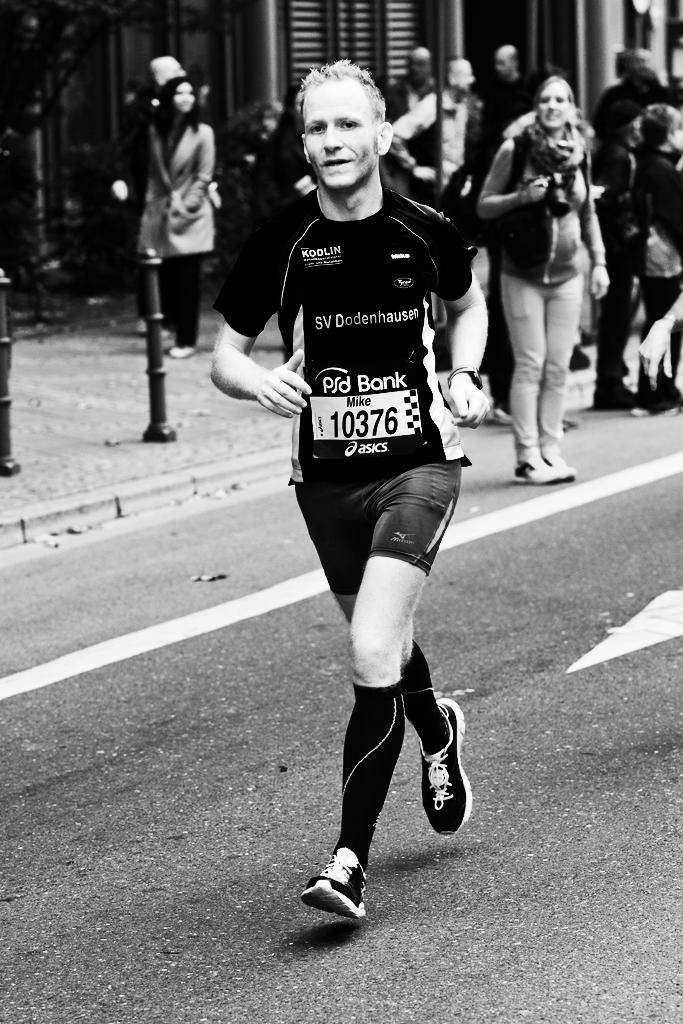 Frankfurt Marathon bei 39km (Olaf Wickenhöfer)
