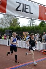 Neue persönliche Bestzeit im Halbmarathon 2011, Mike Schwarz